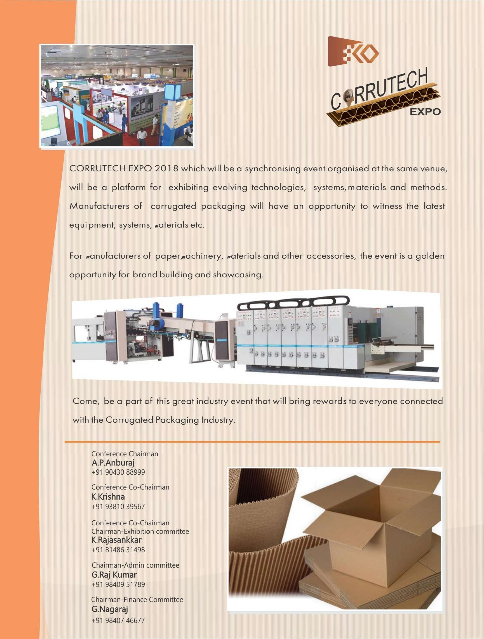 47th CONFERENCE OF FEDERTION OF CORRUGATED BOX MANUFATURESS